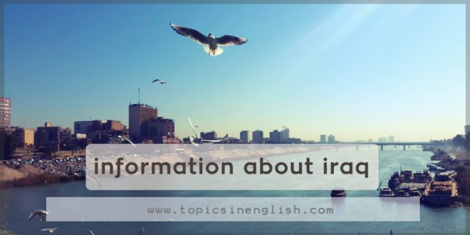 information about iraq