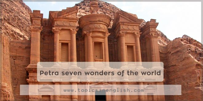 Petra seven wonders of the world