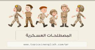المصطلحات العسكرية