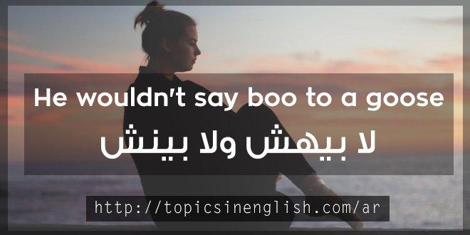حكم بالانجليزي لا بيهش ولا بينش
