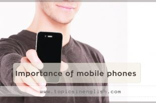 Importance of mobile phones