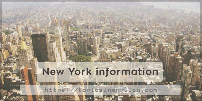 New York information