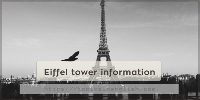 Eiffel tower information