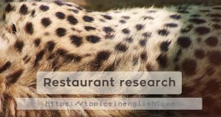 Research on an endangered animal