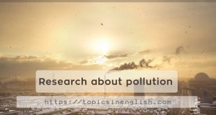 Research about pollution