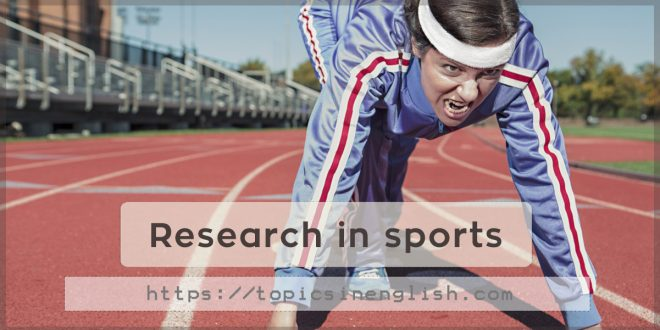 Research in sports