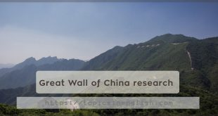 Great Wall of China research
