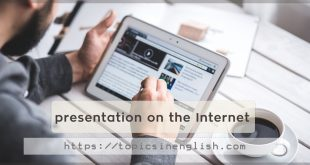 presentation on the Internet