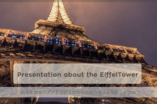 Presentation about the EiffelTower