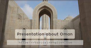 Presentation about Oman