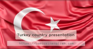 Turkey country presentation