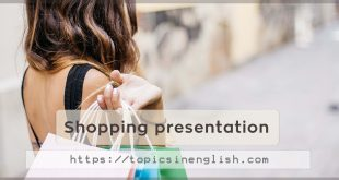 Shopping presentation