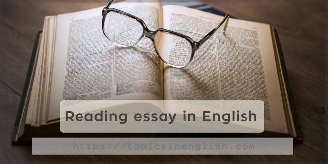 Reading essay in English