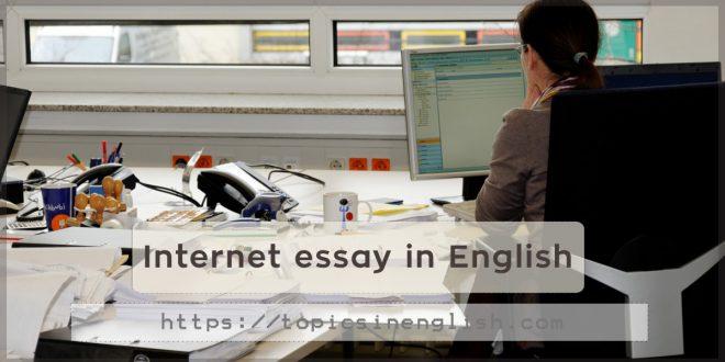 Internet essay in English