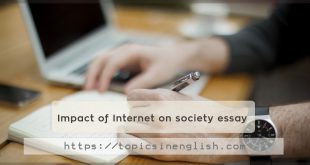 Impact of Internet on society essay