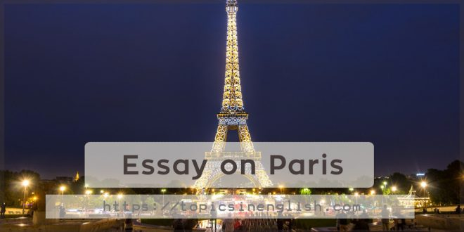 Essay on Paris