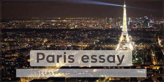 Paris essay