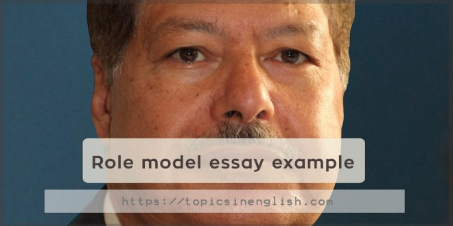 Role model essay example