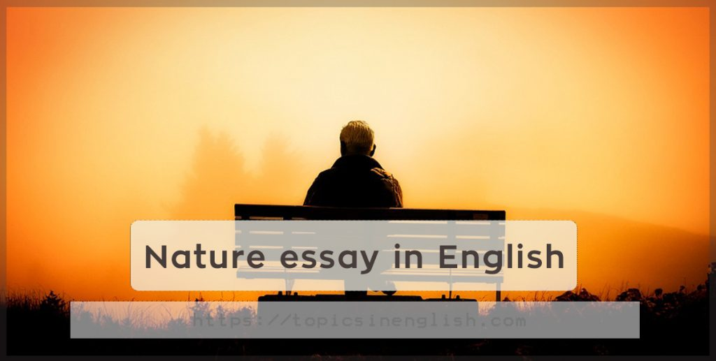 respect nature essay Here is your essay on religion, it's meaning, nature, role and other details religion is an almost universal institution in human society it is found in all societies, past and present.