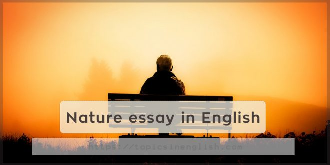 Nature essay in english