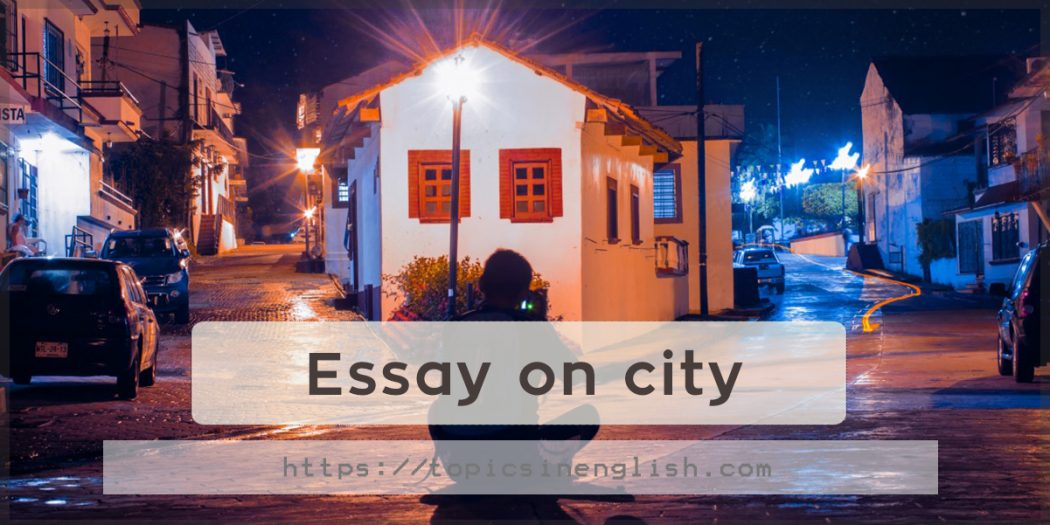 essays on city Free essay: new york city at the time of the civil war can be explained as a small roaming forest fire with the potential to cause an exponential amount of.