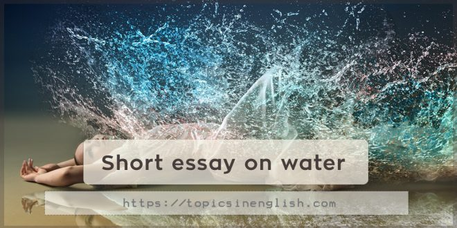 Essays on water