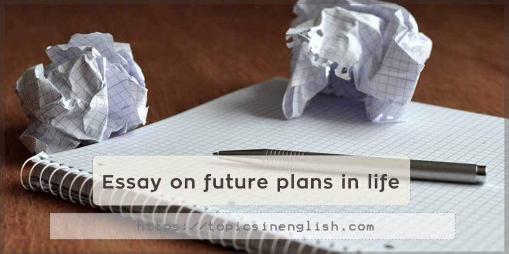 essay about future life plan