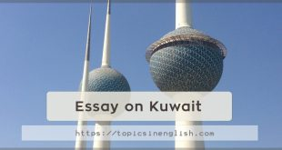 Essay on Kuwait