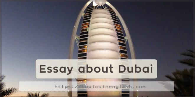 Essay about Dubai