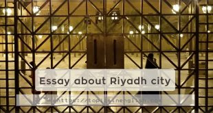 Essay about Riyadh city