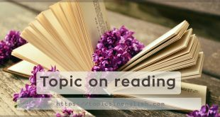 Topic on reading