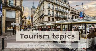 Tourism topics