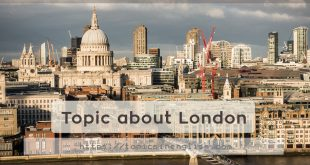 Topic about London