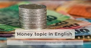 Money topic in English