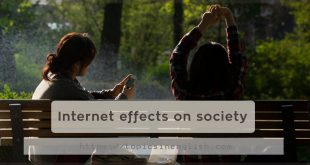 Internet effects on society