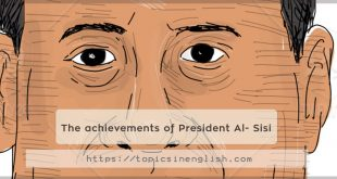 The achievements of President Al- Sisi