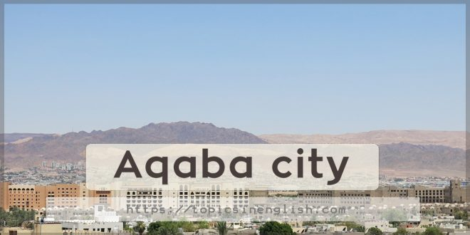 Aqaba city