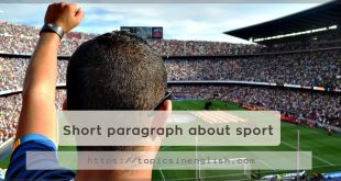 Short paragraph about sport