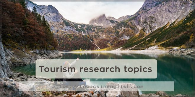 Tourism research topics