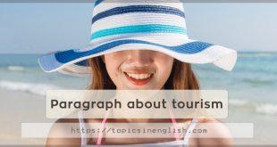 Paragraph about tourism