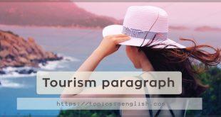 Tourism paragraph