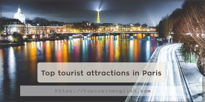 Top tourist attractions in Paris