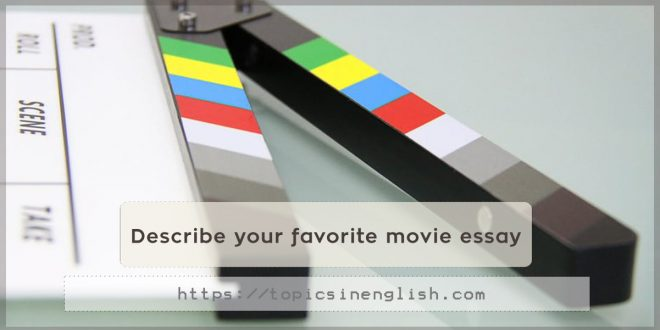 what is your favorite movie essay
