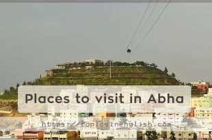 Places to visit in Abha