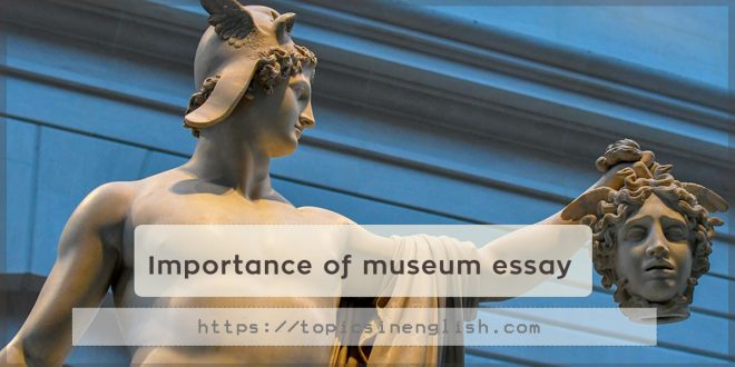 Importance of museum essay