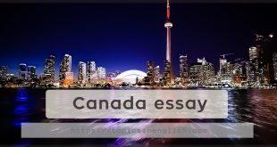 Canada essay