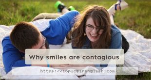 Why smiles are contagious