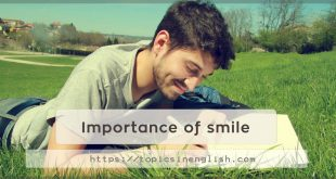 Importance of smile