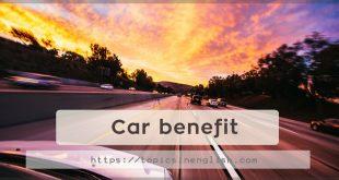 Car benefit
