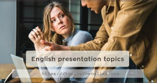 English presentation topics